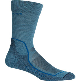 Icebreaker M's Hike+ Light Crew Socks thunder/isle/midnight navy